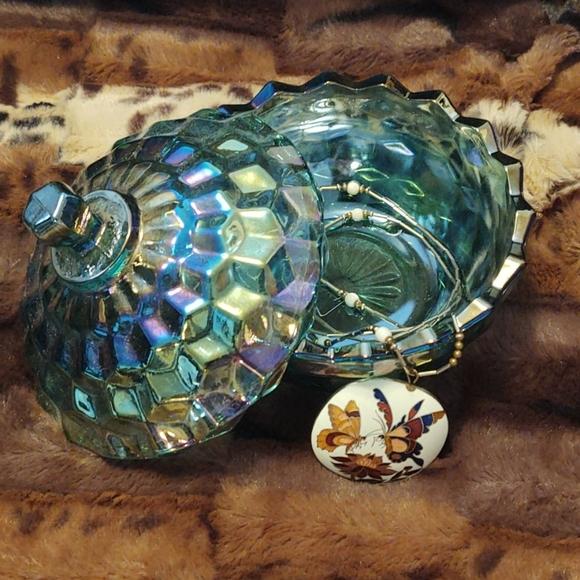 Fostoria ? Candy Dish Trinket Dish Jewelry Holder
